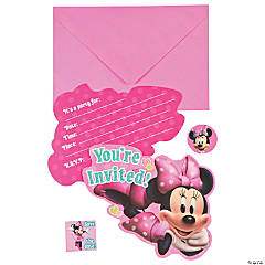 Minnie Bowtique Invitations