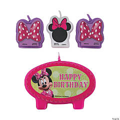 Minnie Bowtique Birthday Candles