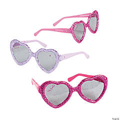 Minnie Bowtique Glitter Glasses