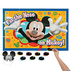Paper Mickey & Friends Party Game