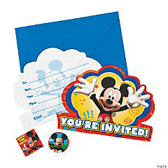 Mickey & Friends Invitations