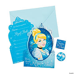 Cinderella Invitations