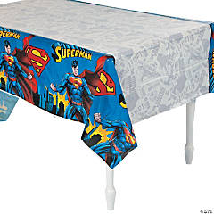 Superman Tablecloth