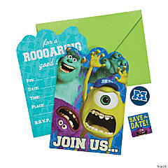 Monsters University™ Invites