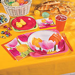 Tulip Time Spring Party Supplies