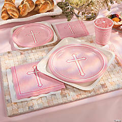 Pink Faith Party Supplies