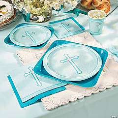 Blue Faith Party Supplies