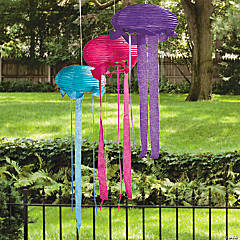 Jellyfish Hanging Lanterns Idea