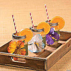 Luau Drink Decor Idea