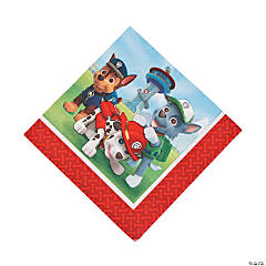 Paper Paw Patrol Luncheon Napkins