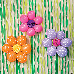 DIY Balloon Flowers Idea