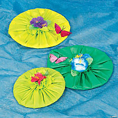 Walk His Way DIY Lily Pad Idea