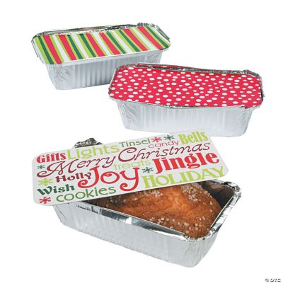 Christmas Treat Containers with Lids Discontinued
