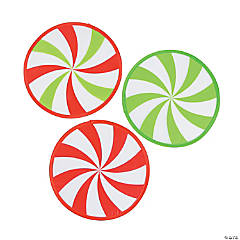 Peppermint Candy Flying Discs