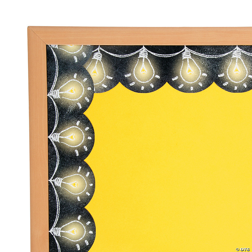 light bulb bulletin board borders