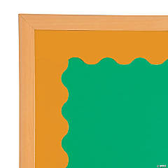 Orange Scalloped Bulletin Board Borders