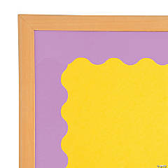 Purple Scalloped Bulletin Board Borders