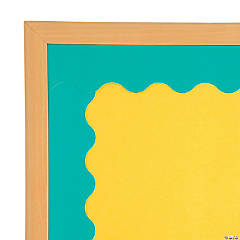 Turquoise Scalloped Bulletin Board Borders