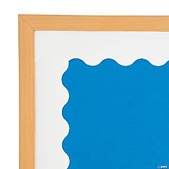 White Scalloped Bulletin Board Borders