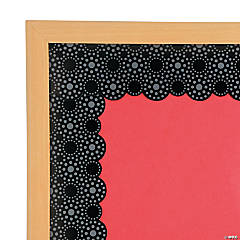 Lots of Dots Black Bulletin Board Borders