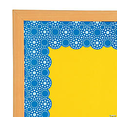 Lots of Dots Blue Bulletin Board Borders