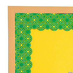 Lots of Dots Green Bulletin Board Borders