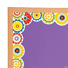 Gears Bulletin Board Borders