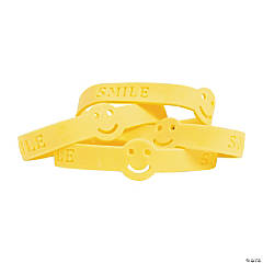 Smile Face Rubber Bracelets