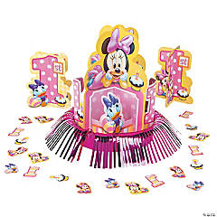 Minnie's 1st Birthday Table Decorating Kit