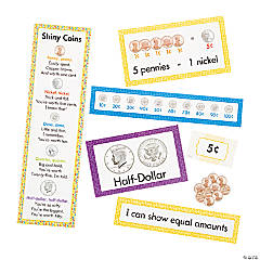 Learning Money Mini Bulletin Board Set