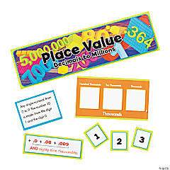 Advanced Place Value Mini Bulletin Board Set