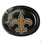 NFL® New Orleans Saints™ Oval Dinner Plates