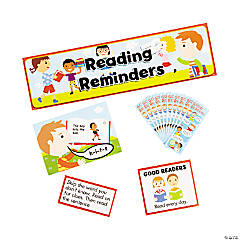 Reading Reminders Mini Bulletin Board Set