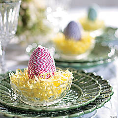 Baker's Twine Wrapped Plastic Easter Eggs Idea
