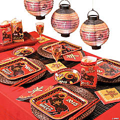Chinese New Year Party Supplies, Decorations & Party Ideas
