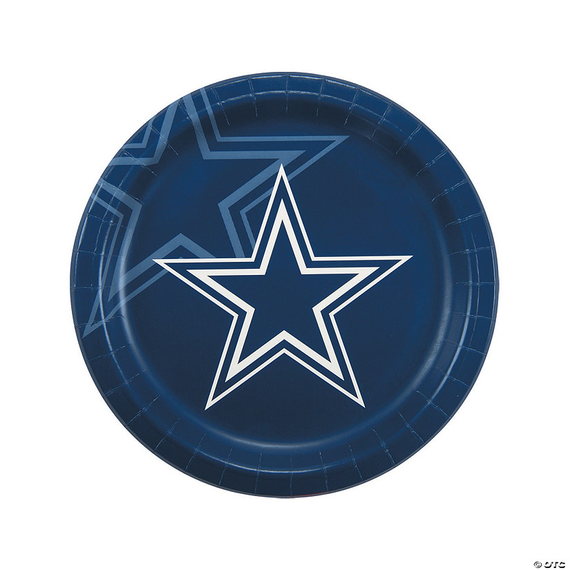 sc 1 st  Oriental Trading & NFL® Dallas Cowboys™ Paper Dinner Plates