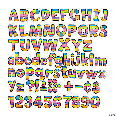 Jumbo Poppin' Patterns™ Designer Letters