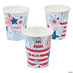 USA Fireworks Cups