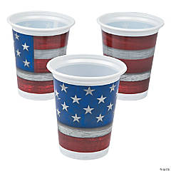Patriotic Steel Cups