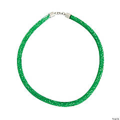 Nylon Green Crinoline Necklace Craft Kit