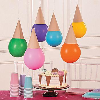 Diy Ice Cream Cone Balloon Decorations
