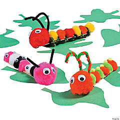Craft Stick Caterpillar Idea