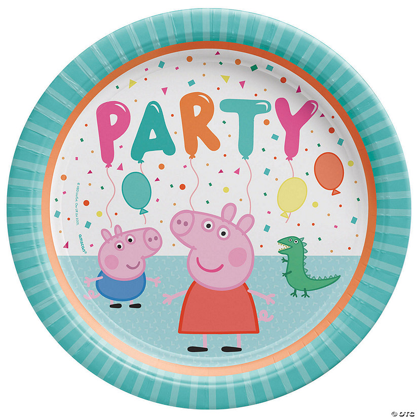 sc 1 st  Oriental Trading & Peppa Pig™ Paper Dinner Plates