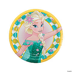 Frozen Fever Dinner Plates