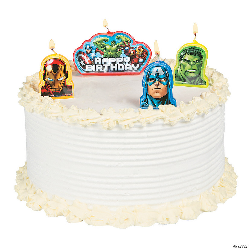 Marvel Avengers Birthday Candles Discontinued