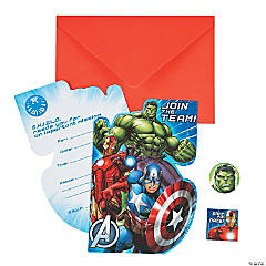 Paper Marvel Avengers™ Invitations