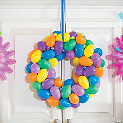 Easter Egg Wreath Idea