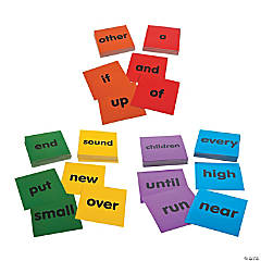 Sight Word Dice Card Sets