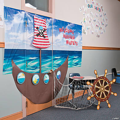 Pirate Door Dcor Idea Door Decoration Ideas Classroom