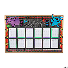 Learning Ninjas Bulletin Board Idea